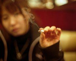 Improper Cigarette Advertising In Manga