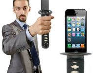 Turn Your iPhone Into A Samurai Sword