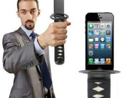 Turn Your iPhone Into A Samurai Sword