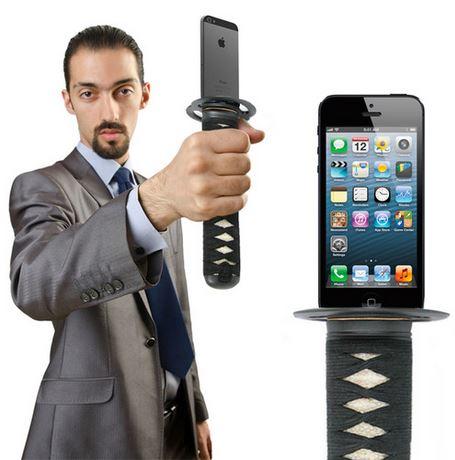 Turn Your iPhone Into A Samurai Sword 1