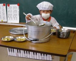 Celebrating Japanese School Lunch Day