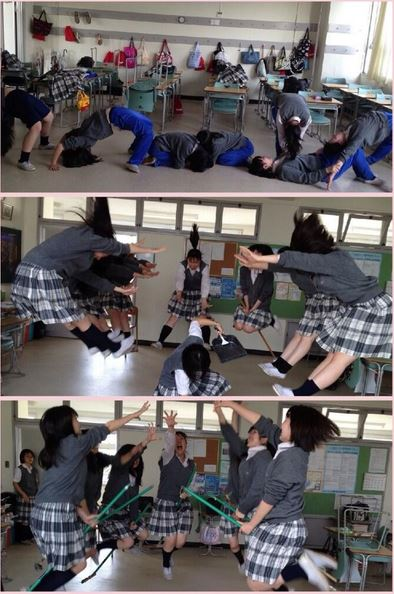 8 Typical Japanese High School Girl Behaviors In The Classroom 5