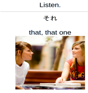 listen example