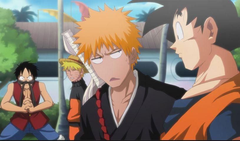 The 4 Kings Of Shonen Anime 2