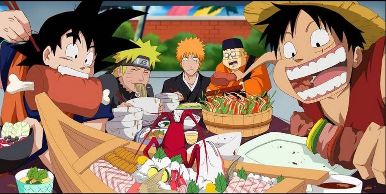 The 4 Kings Of Shonen Anime 3