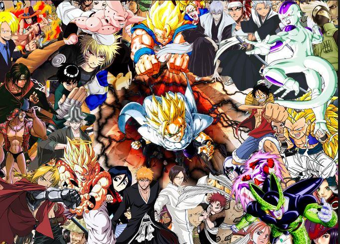 The 4 Kings Of Shonen Anime 7