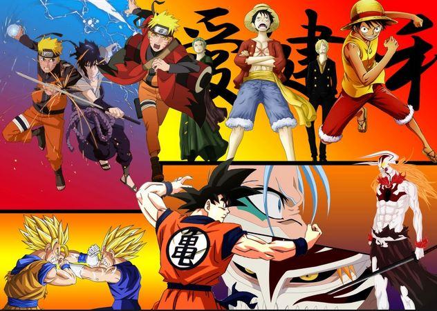 The 4 Kings Of Shonen Anime