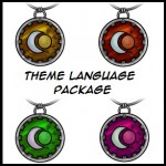Theme Language Package