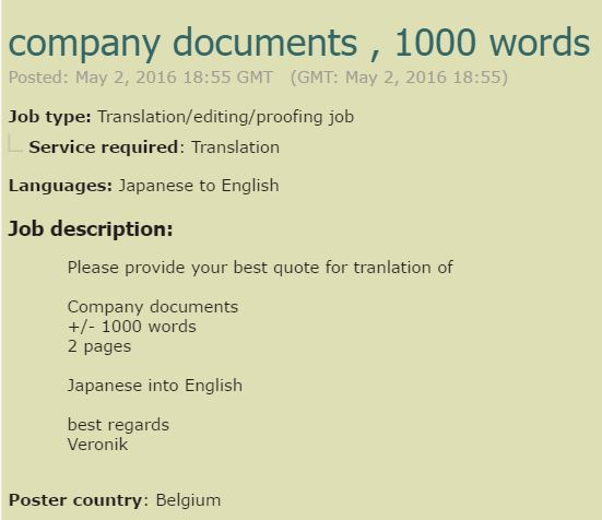 Becoming A Japanese Translator: Finding Work