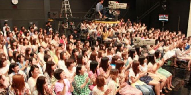 Getting in the Studio Audience of a Japanese Variety Show 1
